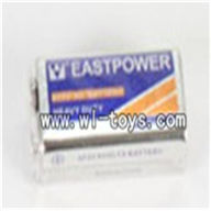 Double-horse-7010-10 Battery for the remote control,shuang ma 7010 rc boat and dh 7010 parts