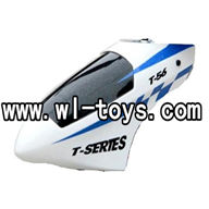MJX-T56-parts-01 Head cover-Blue MJX T656 RC helicopter parts MJX toys T56 model Accessories