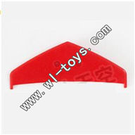 MJX-T56-parts-31 Horizontal wing-Red MJX T56/T656 RC helicopter parts MJX T656 toys model Accessori