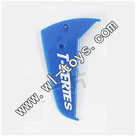 MJX-T56-parts-34 Verticall wing-Blue MJX T56/T656 RC helicopter parts MJX T656 toys model Accessories