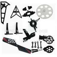 Wltoys V913 Parts Crash set 3,WL toys model Accessories WL V913 rc helicopter Spare parts