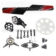 Wltoys V913 Parts Crash set 5,WL toys model Accessories WL V913 rc helicopter Spare parts