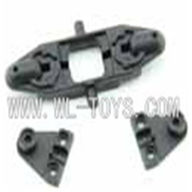 F-series MJX f46 helicopter parts-16 Upper Main Blade Grip Holder(1PCS) & Folder cover(2PCS),MJX F646 toys rc model Accessories