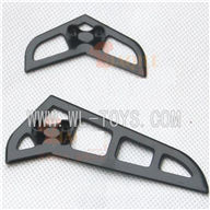 F-series MJX f46 helicopter parts-21 Horizontal and verticall wing,MJX F646 toys rc model Accessories