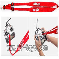 MJX T55/T655 RC Helicopter Parts,MJX L7001 strap for transmitter