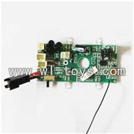 LS-209-parts-05 Circuit board-40MHZ,LianSheng toys model LS209 RC Helicopter parts