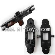 LS-209-parts-11 Upper main grip set & Lower main grip set,LianSheng toys model LS209 RC Helicopter parts