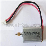 LS-209-parts-23 Main motor with short shaft and gear,LianSheng toys model LS209 RC Helicopter parts
