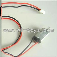 LS-209-parts-24 Tail motor with wire and plug,LianSheng toys model LS209 RC Helicopter parts