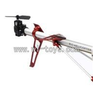 LS-209-parts-28 Long tail unit-Orange,LianSheng toys model LS209 RC Helicopter parts
