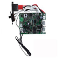 Double horse 9050 helicopter parts-23 PCB Board(Controller Equipment) Frequency(27HZ/40HZ),shuangma 9050 toys DH 9050 rc helicopter model-legend