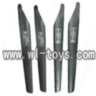 double horse 9051 parts-04 Main Rotor Blade,shuangma 9051 toys DH 9051 rc helicopter model