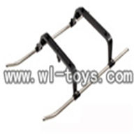 double horse 9051 parts-17 Undercarriage,shuangma 9051 toys DH 9051 rc helicopter model
