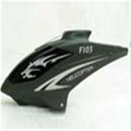 DFD avatar F103 -03 Canopy(Head Cover)dark green DFD f103 RC Helicopter Parts