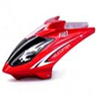 DFD avatar F103 -04 Canopy(Head Cover- Red) DFD f103 RC Helicopter Parts