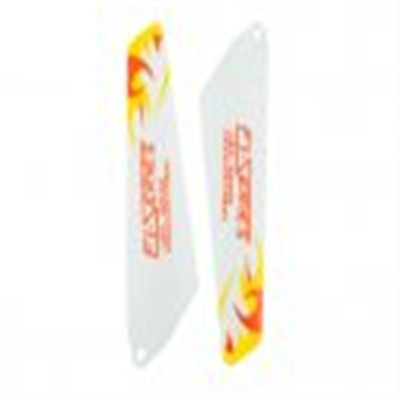 DFD F106 -06 Lower Main Rotor Blade 2B (Yellow) DFD model toys F106 RC Helicopter Parts