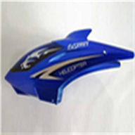 DFD F161A -28 Head Cover(Blue) DFD toys F161 rc helicopter model