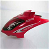 DFD F161A -29 Head Cover(Red) DFD toys F161 rc helicopter model