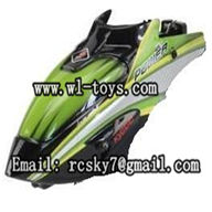 WL-V757-03 Head cover(Green) WLtoys V757 RC Helicopter Parts WL toys model