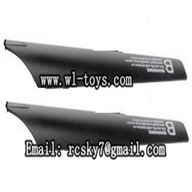 WL-V757-08 Lower main blades(2B),WLtoys V757 RC Helicopter Parts WL-toys model