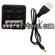 WL-V202-UFO-06 Balance charger & Usb charger WLtoys Quadcopter model WL V202 rc helicopter parts