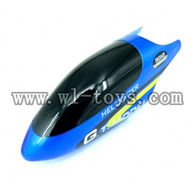 G.T.model 9012 rc helicopter parts QS9012 toys GT-Model-9012-parts-02 Head cover(Blue)
