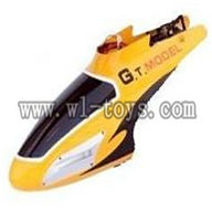 G.T.model 9012 rc helicopter parts QS9012 toys GT-Model-9012-parts-04 Head cover(Yellow)