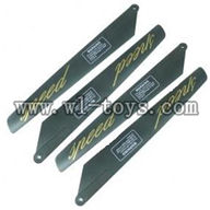 G.T.model 9012 rc helicopter parts QS9012 toys GT-Model-9012-parts-06 Main Rotor Blades(4pcs)