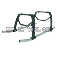 GT-Model-9012-parts-10 Landing skid,G.T.model toys QS9012 rc helicopter parts