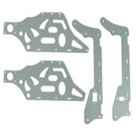 GT-Model-9012-parts-31 Main Frame Decorative Aluminium Plates QS9012 rc helicopter parts