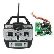 GT-Model-9012-parts-42 Transmitter & Circuit board,G.T.model toys QS9012 rc helicopter parts