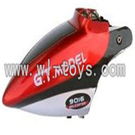 GT-9016-parts-02 Head cover(Red),G.T. model 9016 toys GT model QS9016 rc helicoptero parts