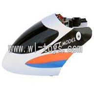 GT-9016-parts-03 Head cover(White),G.T. model 9016 toys GT model QS9016 rc helicoptero parts