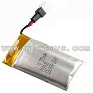 GT-9016-parts-04 3.7v 350mAH battery,QS9016 toys G.T. model 9016 rc helicoptero parts