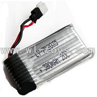 GT-9016-parts-05 3.7v 380mAH battery-MJX F47,QS9016 toys G.T. model 9016 rc helicoptero parts