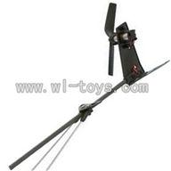 GT-9016-parts-26 Whole tail unit,QS9016 toys G.T. model 9016 rc helicoptero parts