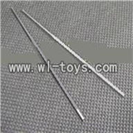 GT-9016-parts-28 Support pipe(2pcs),QS9016 toys G.T. model 9016 rc helicoptero parts