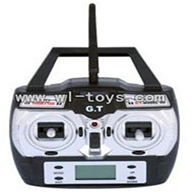 GT-9016-parts-30 Remote control with antena,QS9016 toys G.T. model 9016 rc helicoptero parts