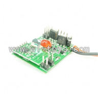 GT-9018-parts-12 Circuit board,Receiver board,G.T. model 9018 rc helicoptero parts QS9018 toys