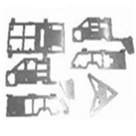 GT Model QS8005 parts -21 metal Body sheet,G.T. model 8005 rc helicoptero parts