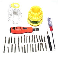 Screwdriver tools for rc helicopter {31-IN-1 ELECROC SCREWDRIVER SET + 1 Small cross + 1 big cross }