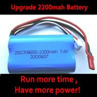 2200mAH Battery wholesale  (WLtoys WL912 Boat Upgrade Batteryy-7.4v 2200mAH battery 15c with Red JST plug)