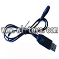 double horse dh 9098 parts-21 usb charger wire(Round Interface)