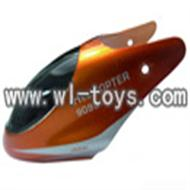 double horse helicopter DH 9098 parts-23 head cover (orange)