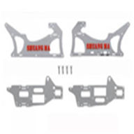 double horse 9104 parts-11 main frame decorated aluminium plates,shuangma DH 9104 rc helicopter parts