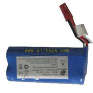 FeiLun FX059 rc helicopter parts-11 FX059 Battery 7.4v with red plug