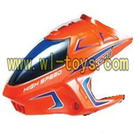 Koome K008 rc helicopter parts-01 Head cover (Orange)