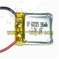 Koome K008 rc helicopter parts-09 3.7v 180mah Battery