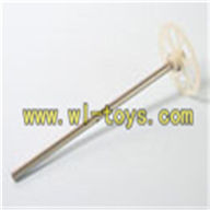 Koome K008 rc Helicopter parts-22 Upper main gear with hollow pipe