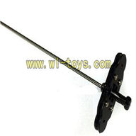 Koome K008 rc Helicopter parts-27 Inner shaft with head & Upper main grip set